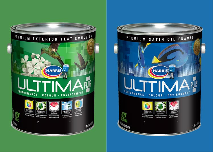 Blueshift Toronto Marketing Agency Portfolio Item – Ulttima Plus Paint Can Graphics